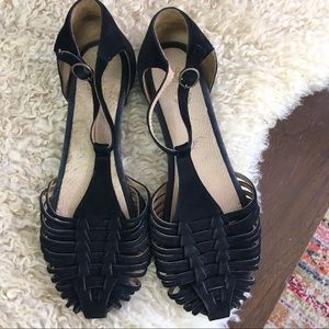 Seychelles weekenders braided suede leather sandal